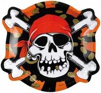 Pirate noir et rouge