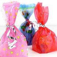 Sachets cadeaux plastique