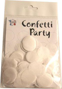 Confettis soie blanc