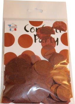 Confettis soie chocolat