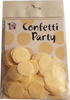 Confettis soie crème