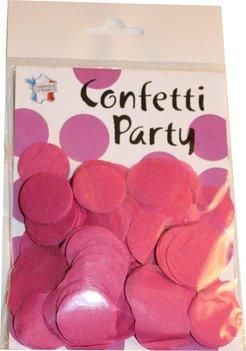 Confettis soie fuchsia
