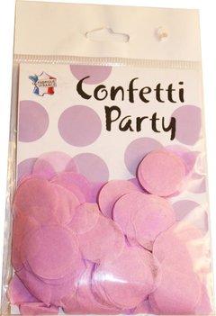 Confettis soie mauve
