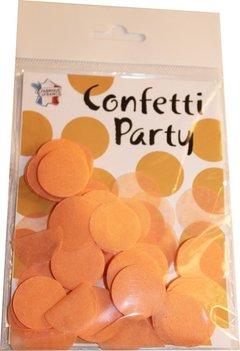 Confettis soie pêche