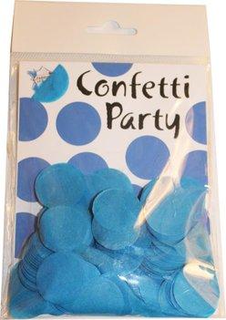 Confettis soie turquoise foncé