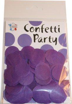 Confettis soie violet