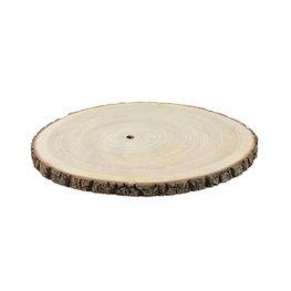 Rondin de bois 35 cm