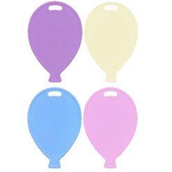 Poids pour ballon couleur pastel