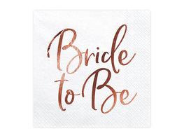 Serviettes Bride to be