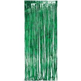 Rideaux à franges verts
