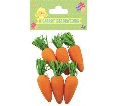 Suspensions petites carottes de pâques
