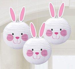 Lanternes lapin de Pâques en papier