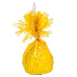 Poids à ballons jaune