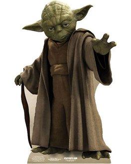 Image carton décoratif Yoda