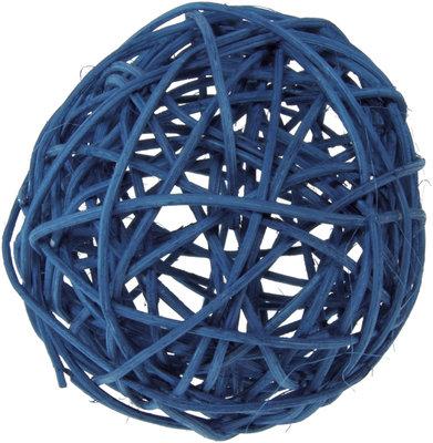 Assortiment boules de rotin turquoise