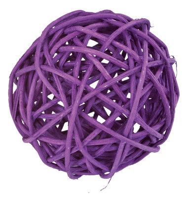 Assortiment boules de rotin prune