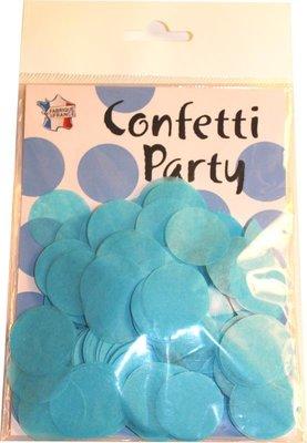 Confettis soie ciel