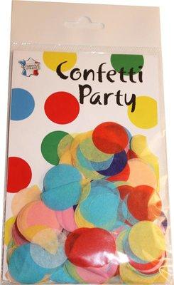 Confettis soie multicolore vif