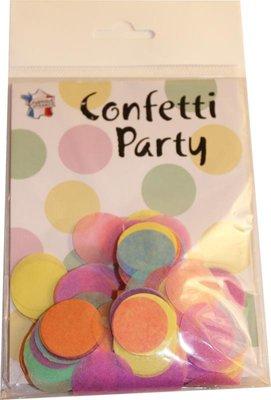 Confettis soie pastel