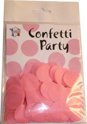 Confettis soie rose