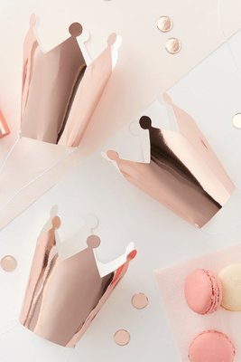 Couronnes rose gold