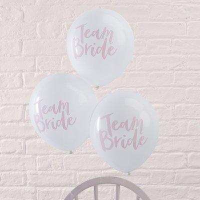 Ballons latex team bride