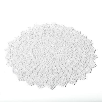 Napperon crochet 40 cm