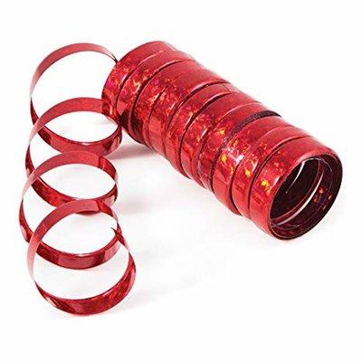 Serpentin holographique rouge