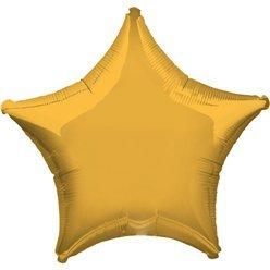 Ballon étoile dorée