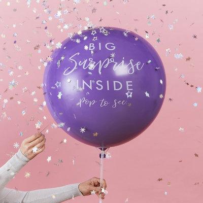 Ballon révélation de cadeau