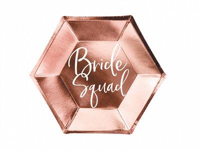 Assiettes bride squad
