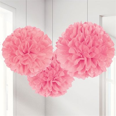 Pompons roses