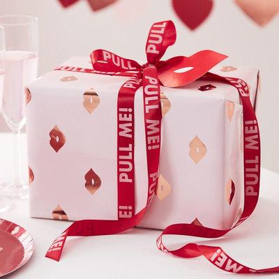 Emballage cadeau St-Valentin