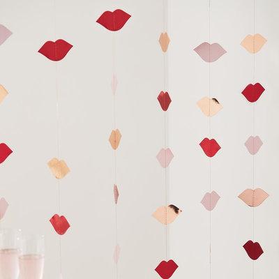 Backdrop lèvres St-valentin