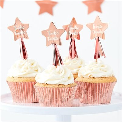 Cupcakes toppers baby twinkle