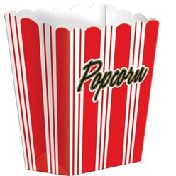 Boîtes pop-corn cinéma
