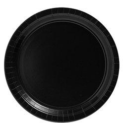 Assiettes noires