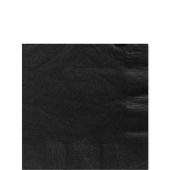 Petites serviettes noires