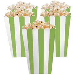 Boîtes à pop-corn vert lime