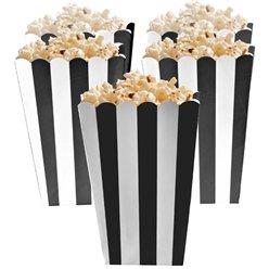 Boîtes à pop-corn noires