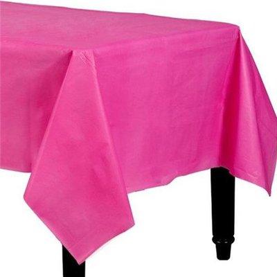 Nappe plastique rose foncé