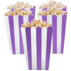 Boîtes à pop-corn violets