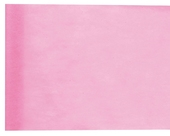 Chemin de table rose clair