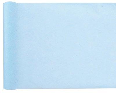 Chemin de table bleu clair