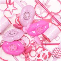 kit jeux pour fêtes rose