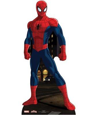 Image carton décoratif Spider-man