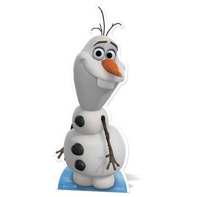 Image carton décoratif Olaf