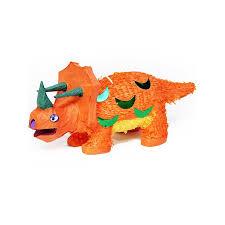 Piñata dinosaure orange