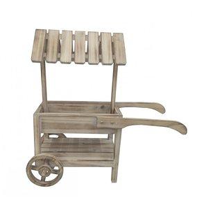 Mini chariot en bois 2 niveaux